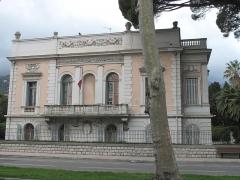 Propriété dite Le Palais Carnoles - English: The Palais Carnolès in Menton (Alpes-Maritimes, France). Seen from South-East side.