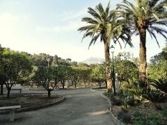 Propriété dite Le Palais Carnoles -  Jardin du Palais Carnolès, Menton, Alpes-Maritimes, France.