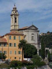 Ancienne abbaye de Saint-Pons, actuellement hôpital Pasteur - Eglise de l'Abbaye de Saint Pons à Nice (Alpes-Maritimes, France). Construite en 1724, elle fait actuellement partie de l'hôpital Pasteur.