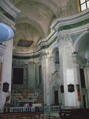 Ancienne abbaye de Saint-Pons, actuellement hôpital Pasteur - Français:   Intérieur de l\'église abbatiale de Saint-Pons à Nice (France)