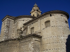Ancienne abbaye de Saint-Pons, actuellement hôpital Pasteur - Français:   Façade orientale de l\'église de l\'abbaye de \
