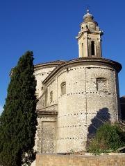 Ancienne abbaye de Saint-Pons, actuellement hôpital Pasteur - Français:   vue arrière de l\'église de l\'abbaye de \