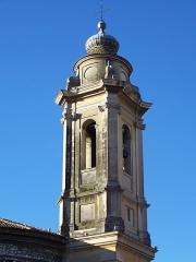 Ancienne abbaye de Saint-Pons, actuellement hôpital Pasteur - Français:   Clocher de l\'église de l\'abbaye de \