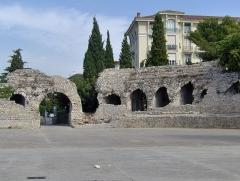 Arènes de Cimiez - English: Amphiteatre of Cimiez, Nice, France