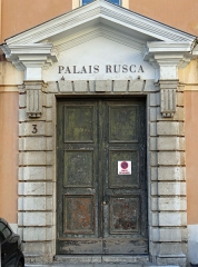 Caserne Rusca - Français:   Nice - Caserne Rusca
