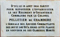 Caserne Rusca - Français:   Nice - Caserne Rusca - Plaque commémorative