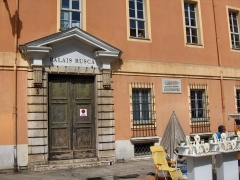Caserne Rusca - English:   Palais Rusca, Place du Palais, Nice, France