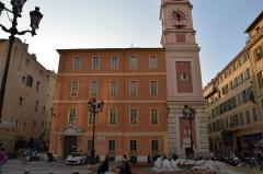 Caserne Rusca - Français:   Tour de l\'Horloge Place du Palais