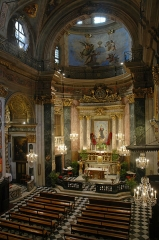 Cathédrale Sainte-Reparate - Eglise Sainte Rita à Nice - Intérieur