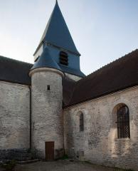 Eglise - English: Arsonval Church, France.