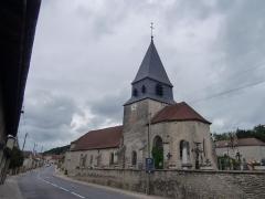 Eglise - English: Église d'Arsonval (Aube, France)