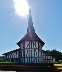 Eglise - Deutsch: Chor der Kirche der Kreuzeserhöhung, Bailly-le-France, Département Aube, Region Champagne-Ardenne (heute Großer Osten), Frankreich