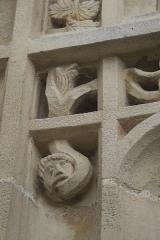 Eglise Saint-Pierre-et-Saint-Paul - Deutsch: Katholische Kirche Saint-Pierre-Saint-Paul in Balignicourt im Département Aube (Champagne-Ardenne/Frankreich), Skulptur am Portal