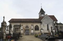 Eglise Saint-Pierre-et-Saint-Paul - Deutsch: Katholische Kirche Saint-Pierre-Saint-Paul in Balignicourt im Département Aube (Champagne-Ardenne/Frankreich)