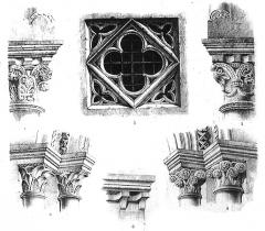 Eglise Saint-Maclou - dessin de cf titre