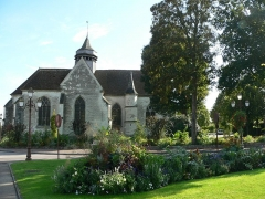 Eglise - English: the oldier of the twoo churches