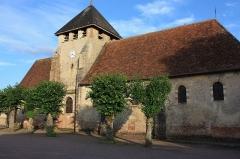 Eglise - Français:   Église de Clérey