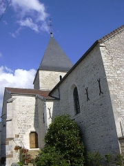 Eglise - English: Saint-Martin's church in Colombé-le-Sec (Aube, Champagne-Ardenne, France).