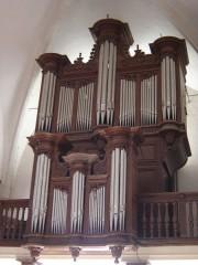 Eglise - English: Orgues de l'église Saint-Quentin de Dienville - Aube - France