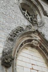 Eglise Saint-Amand - Deutsch: Katholische Kirche Saint-Armand in Donnement im Département Aube (Champagne-Ardenne/Frankreich), Portal, Archivolte