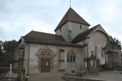 Eglise Saint-Amand - Deutsch: Katholische Kirche Saint-Armand in Donnement im Département Aube (Grand-Est/Frankreich)