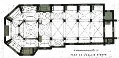 Eglise Saint-Pierre-ès-Liens - par un dessin d eFichot.