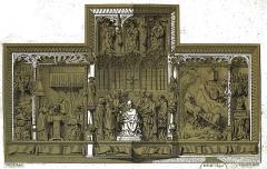 Eglise Saint-Pierre-ès-Liens - French painter, draughtsman, lithographer and architect illustrator (L'Illustration)