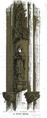 Eglise Saint-Pierre-ès-Liens - par un dessin de Fichot.