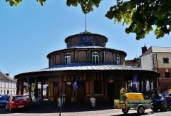 Halle - Deutsch: Markthalle, Ervy-le-Châtel, Département Aube, Region Champagne-Ardenne (heute Großer Osten), Frankreich