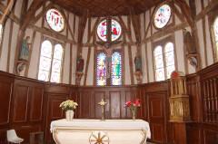 Eglise - Deutsch: Lentilles: Chorraum