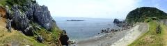 Eglise - 日本語: 2016-08-05 Kami-shima Island,Karst topography and