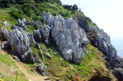 Eglise - 日本語: 2016-08-05 Kami-shima Island,Karst topography カルスト地形