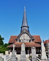 Eglise - Deutsch: Fassade der Kirche St. Julien l'Hospitalier & St. Blaise, Longsols, Département Aube, Region Champagne-Ardenne (heute Großer Osten), Frankreich