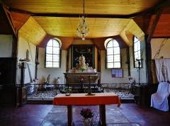 Eglise - Deutsch: Chor der Kirche St. Quentin, Mathaux, Département Aube, Region Champagne-Ardenne (heute Großer Osten), Frankreich