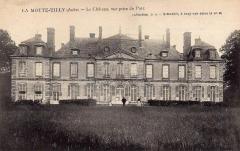 Château de la Motte-Tilly -  Château de La Motte-Tilly  (c. 1900).  Aube, Champagne-Ardenne.