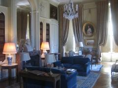 Château de la Motte-Tilly -  Château de La Motte-Tilly - Bibliothèque