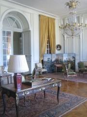 Château de la Motte-Tilly -  Château de La Motte-Tilly - Le bureau