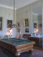 Château de la Motte-Tilly -  Château de La Motte-Tilly - La salle de billard