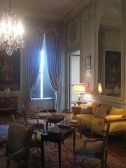 Château de la Motte-Tilly -  Château de La Motte-Tilly - Le salon de famille