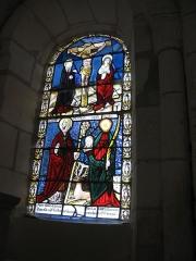 Eglise Saint-Hubert - Français:   SAint Hubert l\'apparition , et Sainte Tanche.