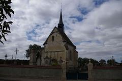 Chapelle du cimetière - Deutsch: Piney in Frankreich. Die Kirche befindet sich auf dem Friedhof des Ortes.