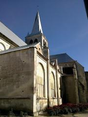 Eglise Saint-Vincent de Ricey-Haut -  Aube Les Riceys Haut Eglise Saint-Vincent Cote Sud