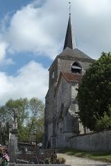 Eglise Saint-Maurice -  Katholische Kirche Saint-Maurice in Rouvres-les-Vignes im Département Aube (Champagne-Ardenne/Frankreich)