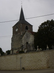 Eglise Saint-Maurice - English: Saint-Maurice's church in Rouvres-les-Vignes (Aube, Champagne-Ardenne, France).