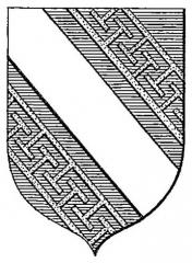Abbaye Saint-Loup - Français:   Armoiries de l\'abbaye Saint-Loup à Troyes