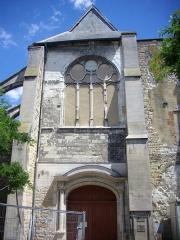 Eglise Saint-Jean - Église Saint-Jean-du-Marché de Troyes (Aube, France): façade occidentale