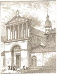 Eglise Saint-Martin-es-Vignes - en l'Église Saint-Martin-es-Vignes par Fichot.