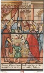 Eglise Saint-Martin-es-Vignes - issu des collections des archives de l'Aube.