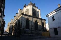 Eglise Saint-Nicolas - vue de l'Église Saint-Nicolas de Troyes.