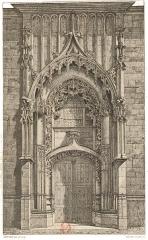 Eglise Saint-Nicolas - sur un dessin de Fichot.
